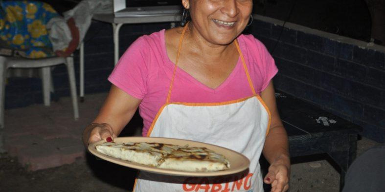 'Tlayudas'… Mexicanas…