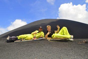 Nicaragua – Volcanoboarding Panny