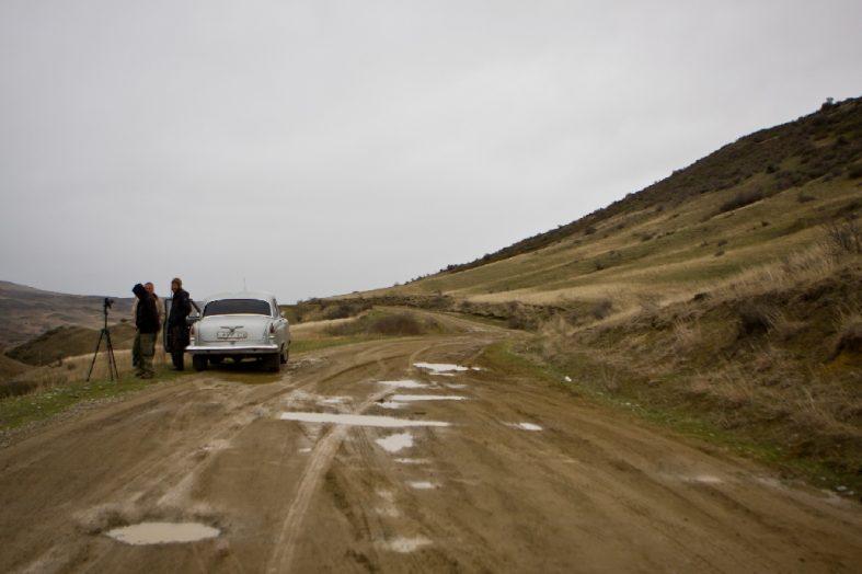 From behind the scene, Davit Gareja