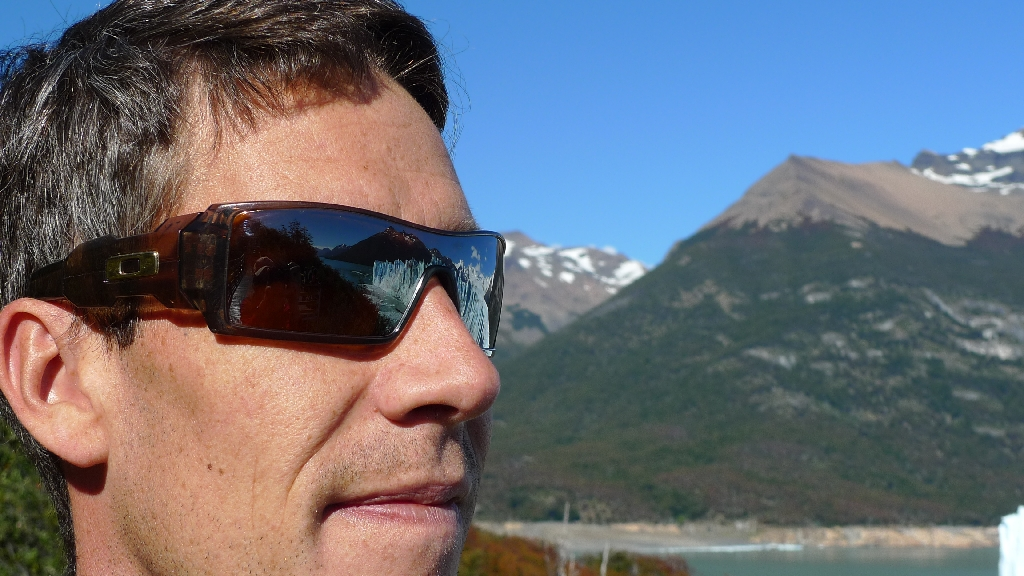 Mr. Ben at Perito Moreno