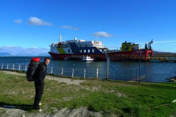 Navimag boat – Puerto Natales to Puerto Montt (Chile), 4 days and nights
