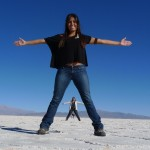 Brazilians at Salinas Grandes, Argentina