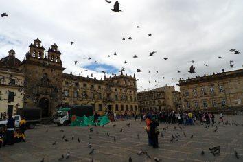 Bogota, one picturesque city