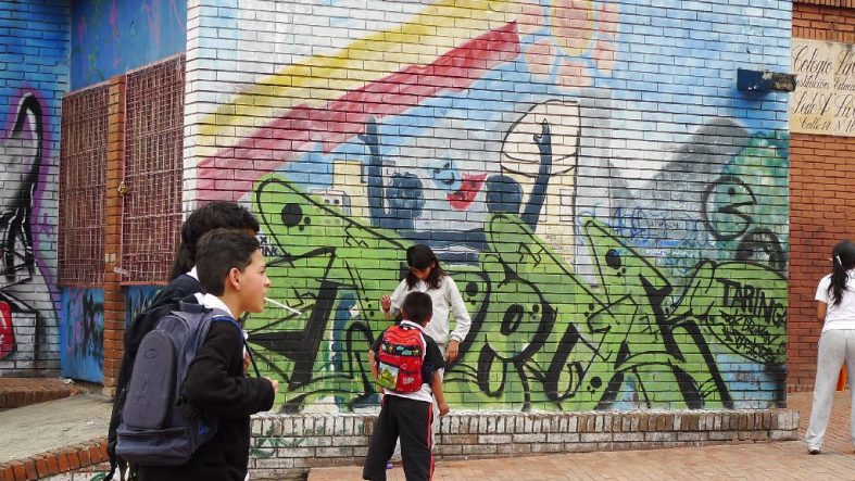 Colourful Street Art of Bogota
