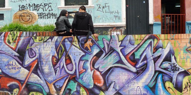 Colourful Street Art of Bogota