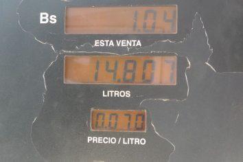 Benzin/Gas in Venezuela