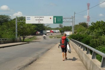 Transit day: Nicaragua (via Honduras) to El Salvador