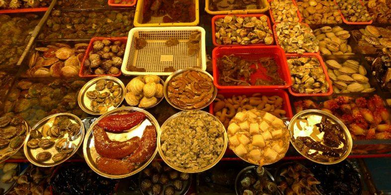 Jagalchi Fish Market (Busan, Korea)