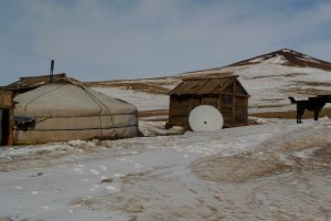 Across Winter Mongolia (Pictures Day 5: Arrival to Olgyi from UB)