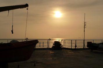 Caspian Sea ferry transfer