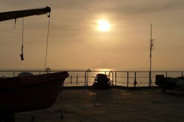 Caspian Sea Night Navigation