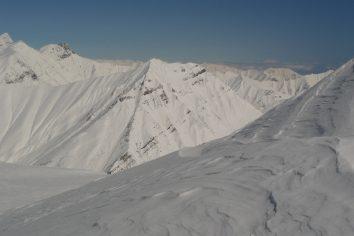 Godauri Slopes Panoramas
