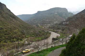 Short ride from Alaverdi to Dilijan