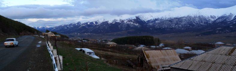 Short ride from Alaverdi to Dilijan