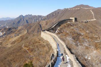 Great Wall of China (= finally)