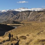 El Calafate trek with Pamela