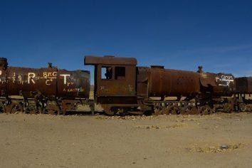 Cemetario de Trenes (panoramas), Uyuni – Bolivia