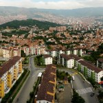 Medellin day panorama