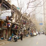 old cisty streets of shanghai
