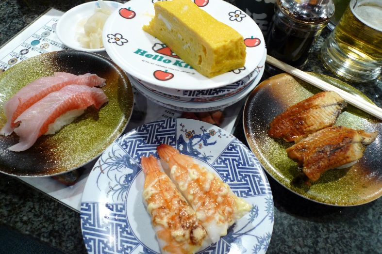 Examples of Japanese food